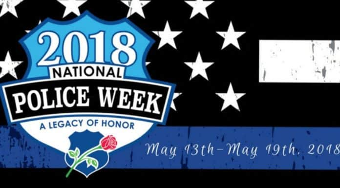 Today we recognize & honor the law enforcement officers that have fallen in the line of duty serving others on National Peace Officer's Memorial Day.