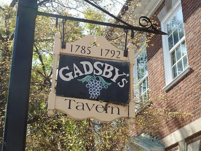 Gadsby's Tavern Museum in Old Town Alexandria, Virginia is pleased to offer free tours for all visiting mothers on Mother's Day!