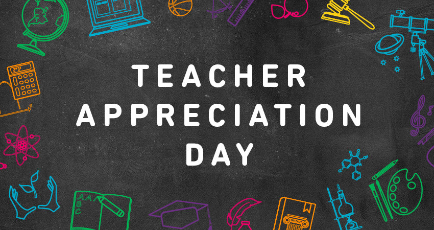 Teachers provide so much to our kids - inspiration, motivation and, ultimately, their futures. From May 7-11, 2018, it's Teacher Appreciation Week and today (May 8) in National Teacher Appreciation Day!