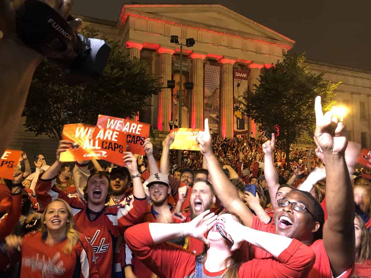 Fans attending the Caps Stanley Cup Game 4 outdoor watch party at Farragut Square tonight will be able to enter the Metrorail system at Farragut West and Farragut North stations during the extra hour of service, Metro announced today.
