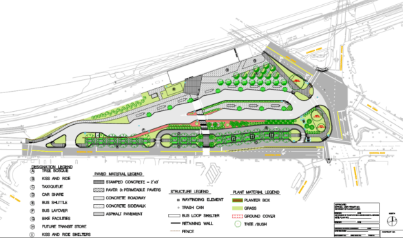 Construction on the long-delayed overhaul of Metro's King Street-Old Town Station parking lot in Alexandria, Virginia is due to kick off next month in July 2018. It is a bad redesign that misses the mark for pedestrians, commuters and for the neighborhood.