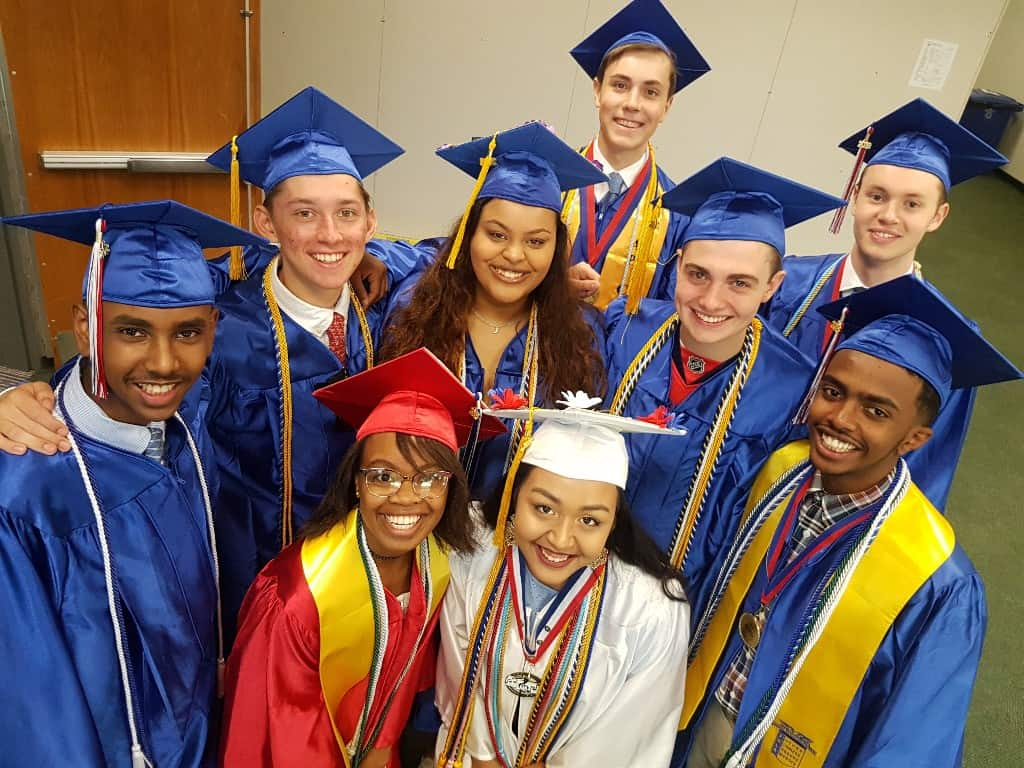 T.C. Williams High School celebrated the graduation of 793 students on Saturday, in a year in which the Class of 2018 will be remembered not only for the largest cohort of graduating students in T.C. Williams' recent history, but also for the largest number of students in a single class heading to college.