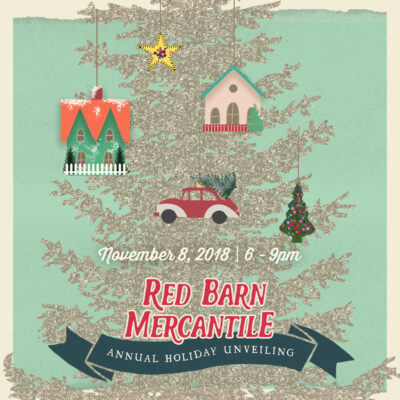 The most wonderful time of the year is upon us! Red Barn Mercantile's annual Holiday Unveiling in Old Town Alexandria, Virginia is a wonderful way to ring in the holiday season.
