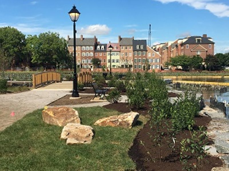 The City of Alexandria, Virginia invites the public to an opening ceremony for the newly renovated Windmill Hill Park (501 S. Union St.) on Saturday, November 17, at 8:30 a.m.