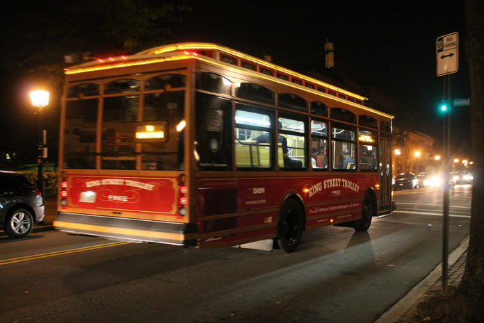 DASH buswill operate a Saturday schedule & the King Street Trolley will have a regular schedule on the 2019 Martin Luther King, Jr. Holiday.