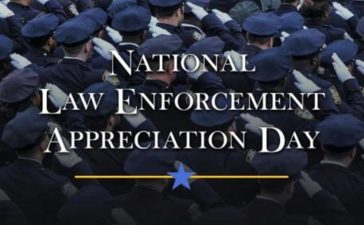January 9th, 2019 is National Law Enforcement Appreciation Day (L.E.A.D.). What can you do to show your support for law enforcement?