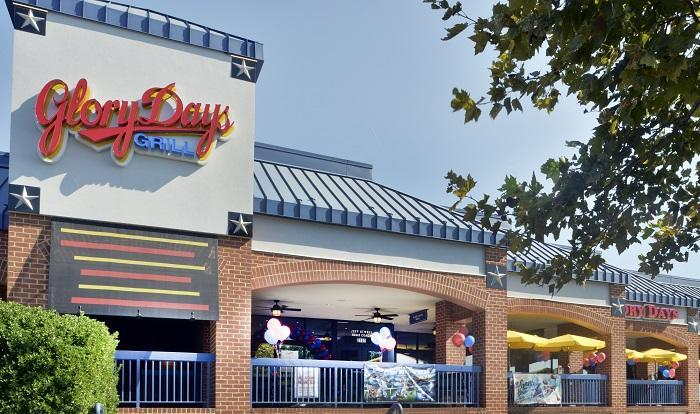 Every Glory Days Grill restaurant brings together award-winning menus accompanied by numerous large screen televisions tuned to a variety of sports, cartoons, news and entertainment offerings.