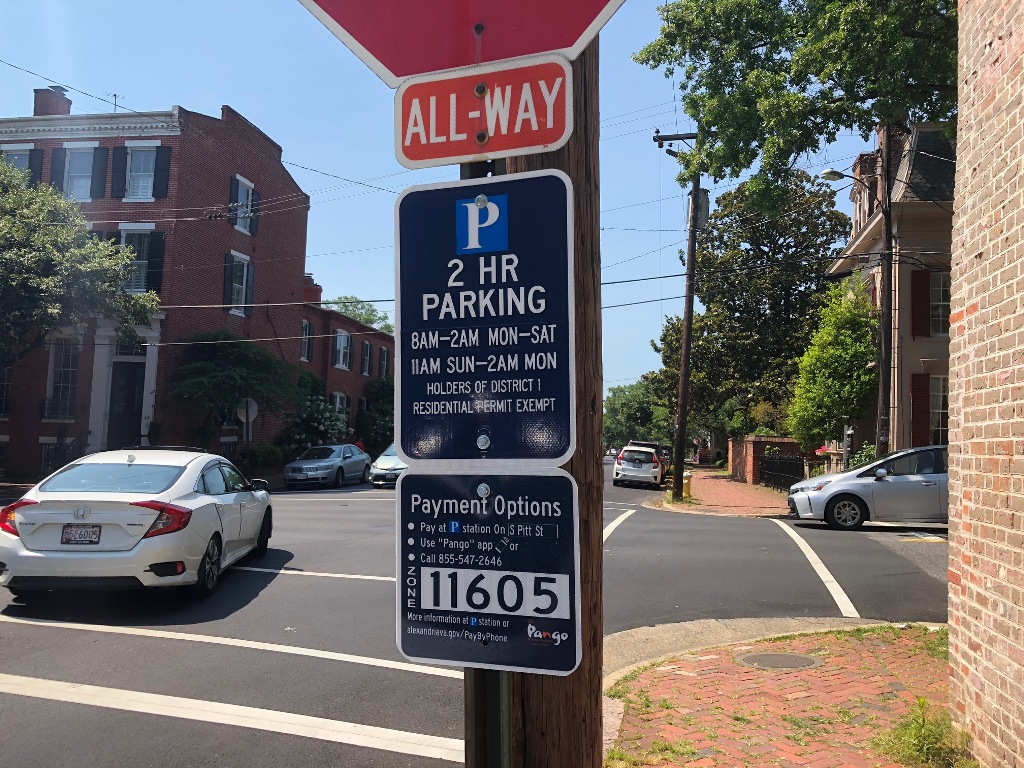 Based on community feedback, parking occupancy surveys, and parking enforcement data, Alexandria, Virginia will expand residential pay by phone parking.