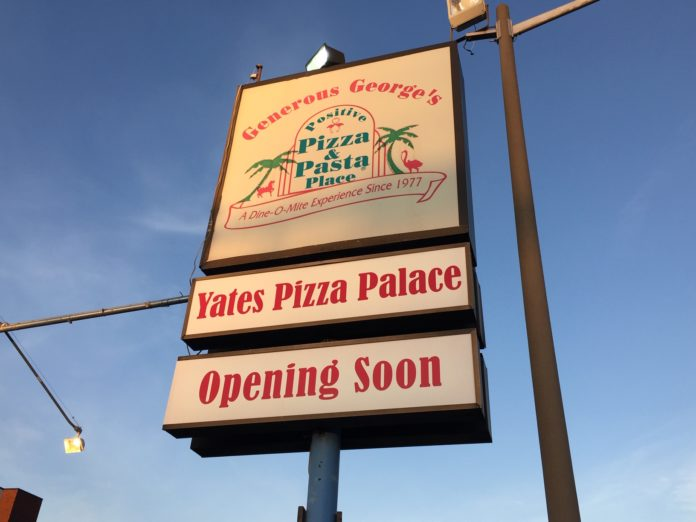 An update on Yates Pizza Palace in Alexandria, Virginia. The building is for sale or for lease. Latest details on this iconic building in Alexandria here.