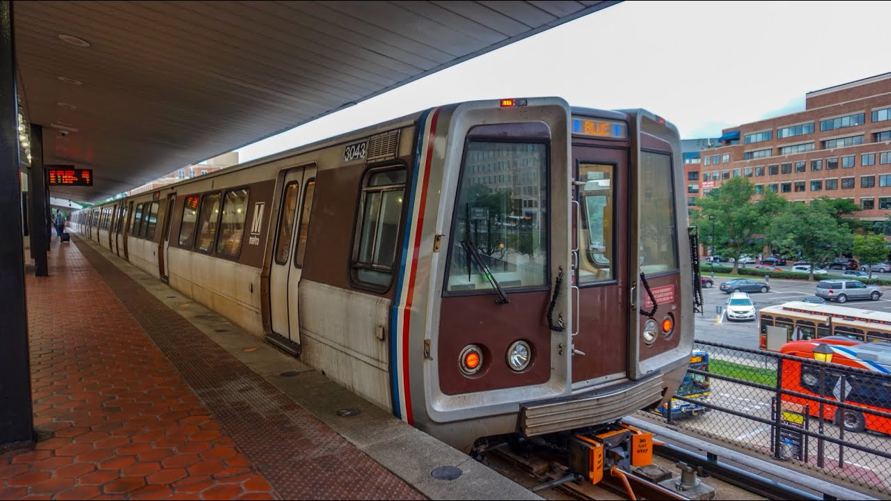 There will be no Blue or Yellow line Metrorail train service between the National Airport station and the Arlington Cemetery (Blue) and L'Enfant Plaza (Yellow) stations on Saturday, January 12 and Sunday, January 13.