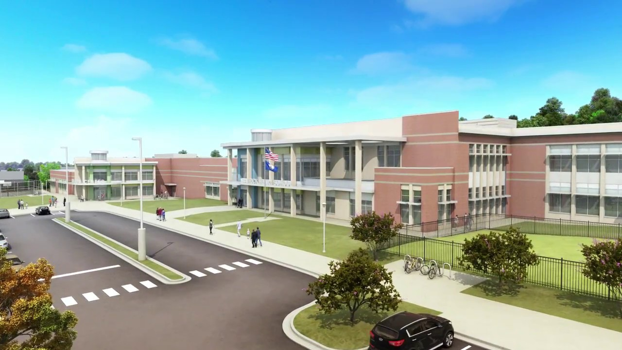 Alexandria's new Patrick Henry School and Patrick Henry Neighborhood Recreation Center officially opened their doors Tuesday in Alexandria, Virginia.